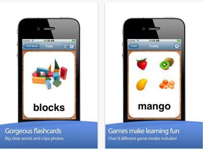 英語フラッシュカード・アプリ