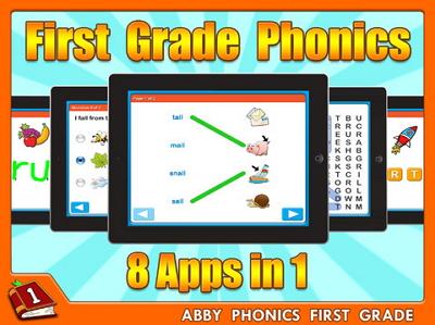 Abby Phonics - First Grade free Lite