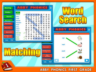 Abby Phonics matcing