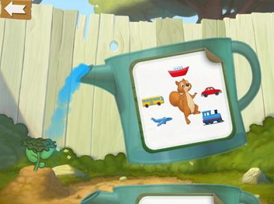幼児向けbusuu.com Kids App水やり