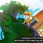 ジャックと豆の木の英語動画