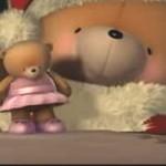 クリスマスセリーヌ・ディオンの音楽とクマさんアニメ動画