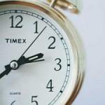 英語で時計の読み方