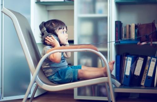 子供の英語リスニング