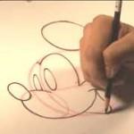 ミッキーマウスの描き方