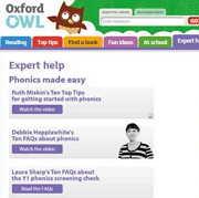 フォニックス学習にもおすすめのサイト「oxfordowl」