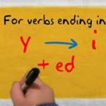 規則動詞の過去形