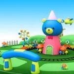 幼児英語 3Dアニメで鳥・花・野菜・フルーツ