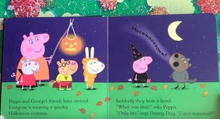 ハロウィン絵本「Peppa Pig Pumpkin Party」