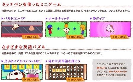 えいごで旅する リトル・チャロ DSミニゲーム