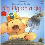 「Big pig on a dig」読み聞かせ