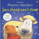 フォニックス絵本Sam sheep can't sleep