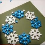 クリスマスカードの手作り解説動画