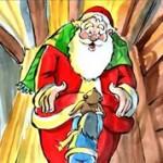 サンタクロースのクリスマス