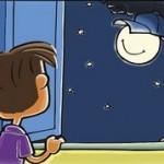 幼児向け英語絵本The Moon and the Cap
