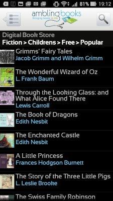 Ambling BookPlayer無料タイトル検索
