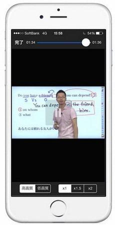 GENIUS 英文法2700解説画面
