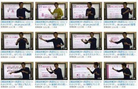 中1英語をひとつひとつわかりやすく。動画解説