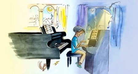 The Little Pianist読み聞かせ動画