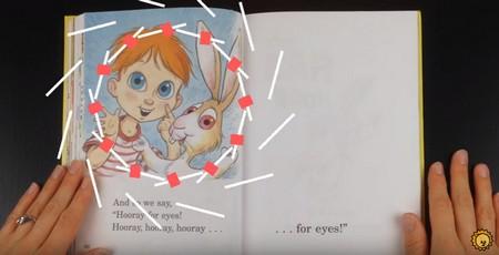 幼児向け英語絵本の読み聞かせ「The Eye Book」