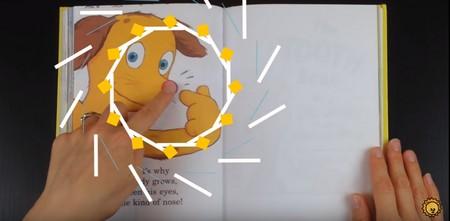 幼児向け英語絵本の読み聞かせ「The Nose Book」