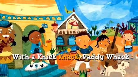 英語絵本にメロディーをのせてKnick Knack Paddy Whack