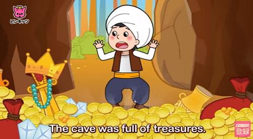 アリババと40人の盗賊 英語版 世界名作童話