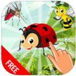 幼児向け昆虫英単語アプリ