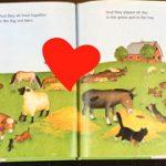 英語絵本の読み聞かせ『big red barn』