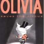 英語絵本『Olivia Saves the Circus』の読み聞かせ動画