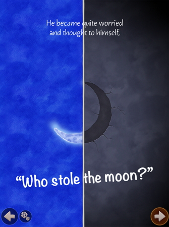 しかけ絵本Who Stole The Moon?free版