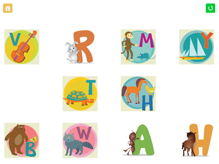 ABC Alphabet Phonics10択