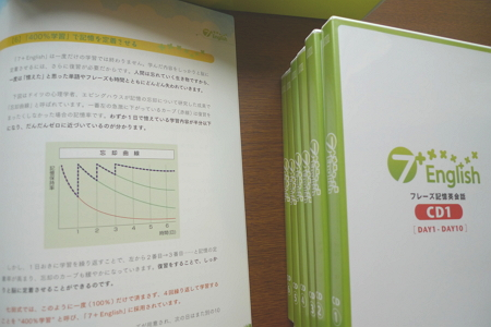 7+english 利用マニュアルとCD