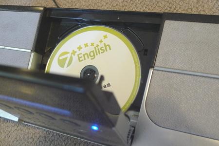 7+englishのCDリスニング
