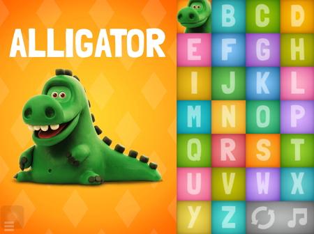 アルファベットと動物