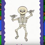 ハロウィンのフラッシュカード