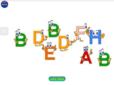 アルファベットの発音