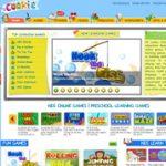 幼児向け英語の学習ゲームサイト『COOKIE』