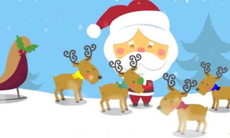 子供と一緒に楽しめる英語でクリスマスソング