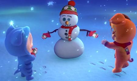 クリスマスソングアニメ