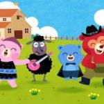 英語の歌マザーグースのアニメ動画