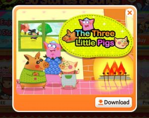 The Three Little Pigs「三匹の子豚」