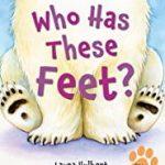 幼児向け英語絵本「Who has these feet」