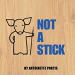 英語絵本の読み聞かせ「Not a Stick」
