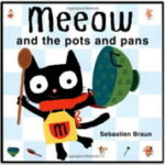 英語絵本「Meeow And The Pots And Pans」