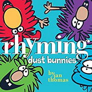 ライミングの英語絵本「rhyming dust bunnies」