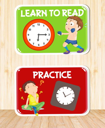 幼児向け無料アプリClock Practice Learning Games