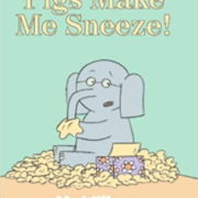 英語絵本「Pigs Make Me Sneeze!」