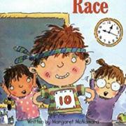 英語絵本「The counting race」