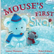 英語絵本「Mouse's First Snow」